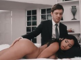 sexy maid ebony with cute ass got fucked by owner