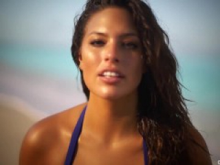 XXL Model Ashley Graham Nude Topless And Lingerie Video