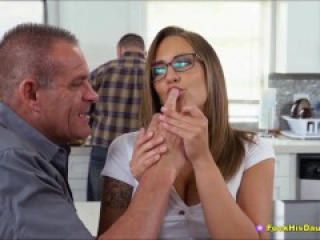 Beautiful Teenage Cockwhore Fucking Fathers Best Pal