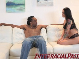 4K Katrina Jade gets tamed by the Biggest Black Cock!