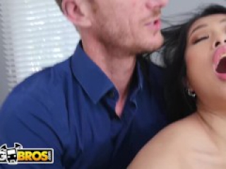 BANGBROS - Asian Teen Step Daughter Jade Kush Busted Doing Cam Shows