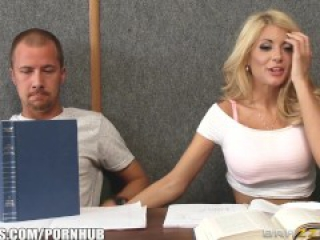 Quicky in the classroom - Brazzers