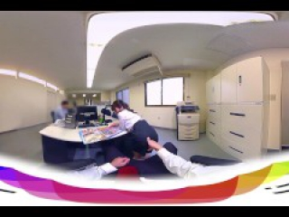 [HOLIVR 360 VR Porn] Japanese Office Power Harassment