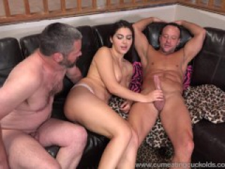 Valentina Nappi Shares A Cock With Her Husband And Makes Him Eat Cum