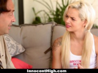 Cheerleader Elsa Jean Learns How To Have Sex