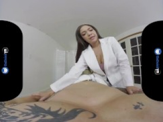 Cassidy Banks Massages and Fucks You in Virtual Reality