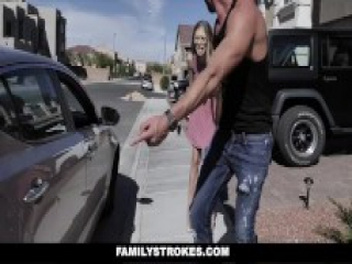 FamilyStrokes - Stepdaughter fucked by stepdad for punishment