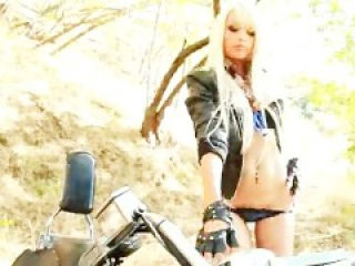 Rikki Six - Motorcycle Babe